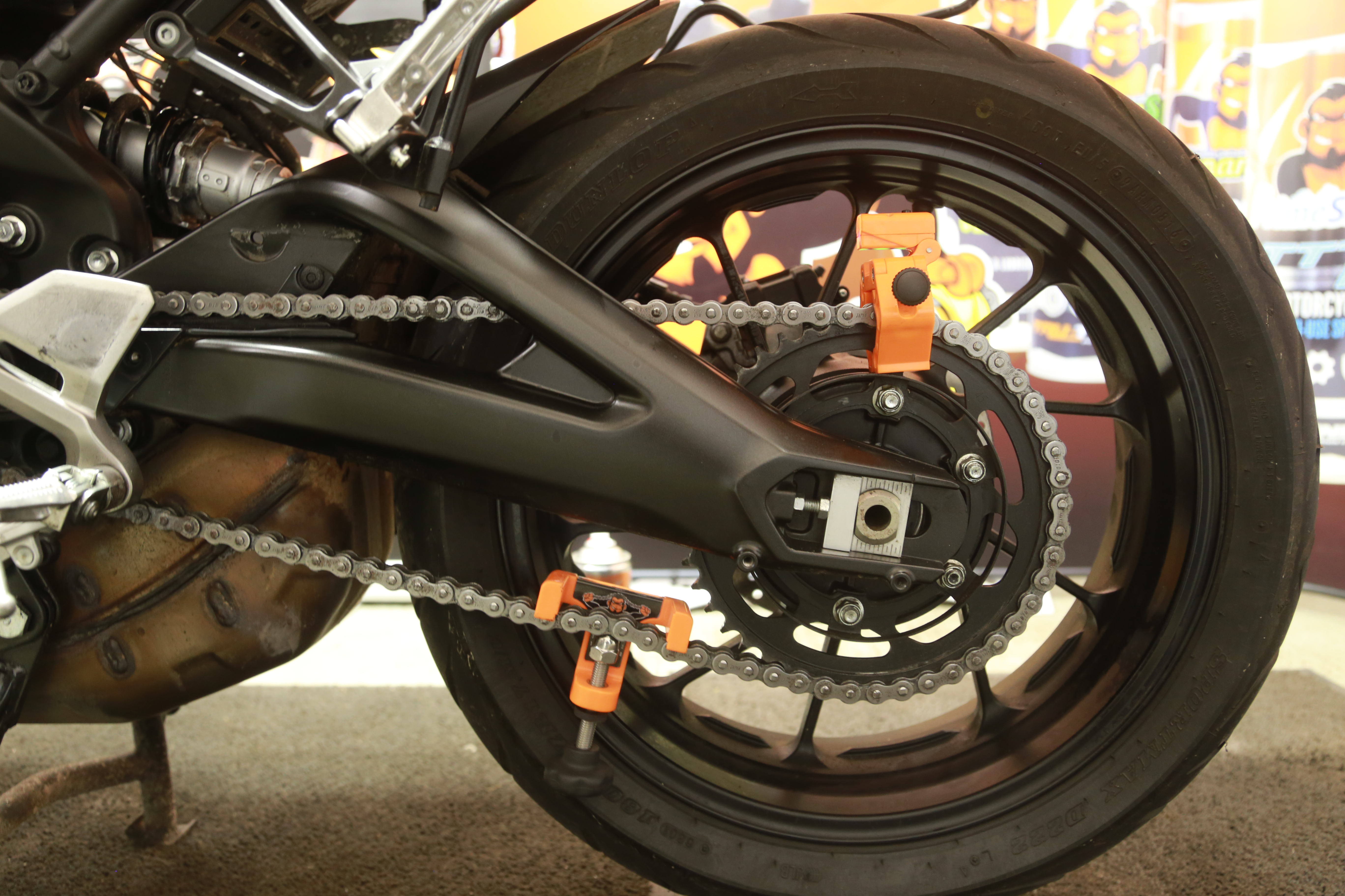 Laser Monkey - Motorcycle Laser Alignment Tool